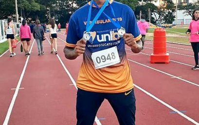 Atleta da Unibr Botucatu volta com duas medalhas do TUNA