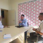 Diretores da FDB Unibr e Senai reúnem-se para estreitar parceria